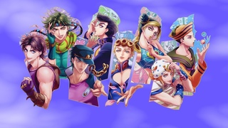 ALL JOJO THEMES MASHUP 1-8 (Including Fan-Made Themes for Jolyne, Johnny and Gappy) [Links in Desc]