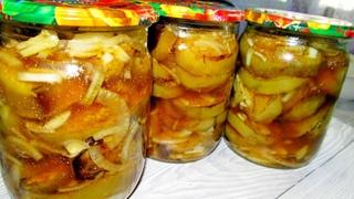 Баклажаны  на зиму. Самый вкусный рецепт! Как шашлык! Буду готовить много!