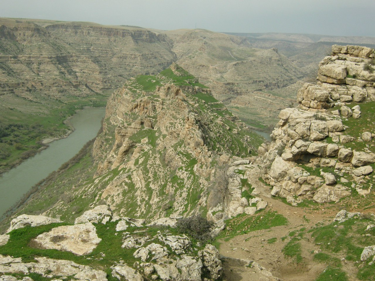 на юго-востоке Турции пейзажи