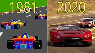 Evolution of Racing Video Games 1981-2020