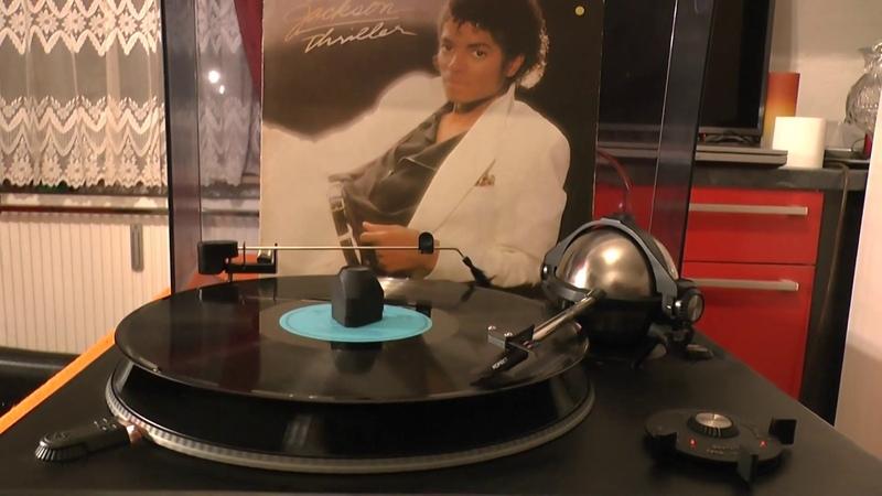 VINYL HQ Michael Jackson Beat it AMIGA DDR RECORD Soviet Russian KORVET 038s turntable CCCP