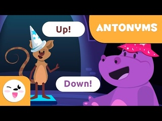ANTONYMS For Kids - What are anotonyms? - Words With Opposite Meaning