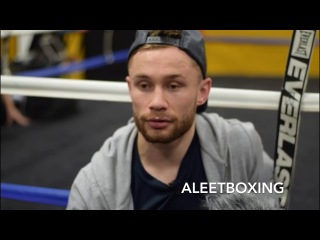 "CARL FRAMPTON ""LOMACHENKO WAS EXPOSED"""