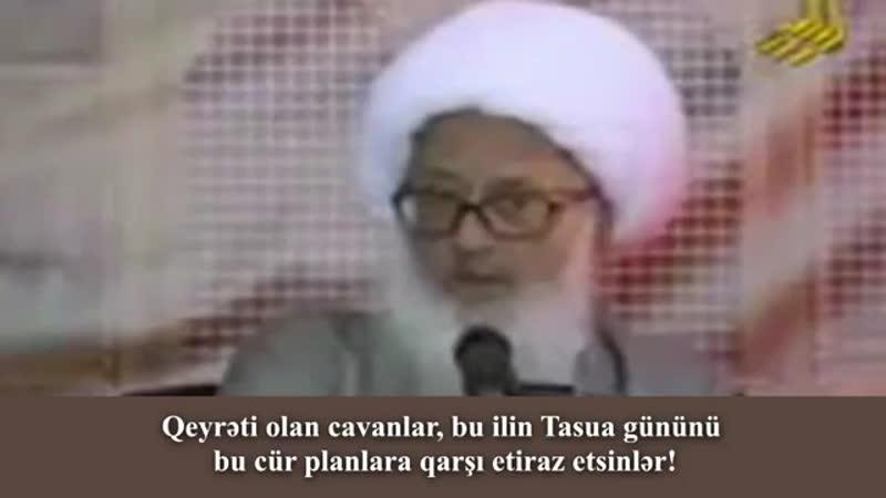 Ayətullah Vahid Xorasani məsumların filmdə simaların göstərilməsi