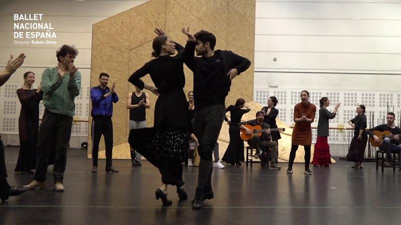 DÍA INTERNACIONAL DEL FLAMENCO 2019 Ballet Nacional de España Ensayos de Electra