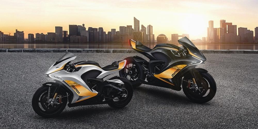 Damon Motorcycles выпустили две новые версии Hypersport