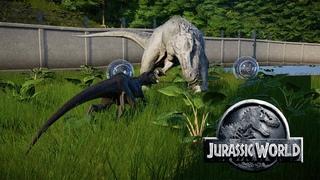 Jurassic World Evolution #28 - Схватка гибридов