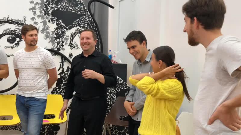 Упражнение по Импро на Riif Питер 2018